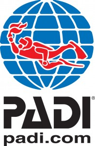 PADI Logo Web Black Text